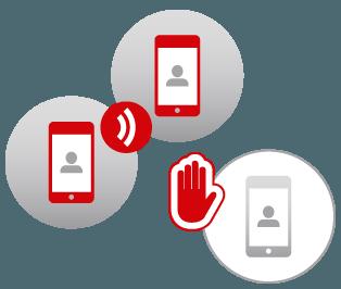 Desviar las llamadas a nuestra Secretaría online